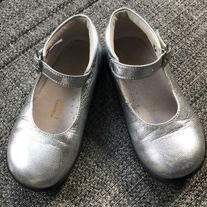 Other - Little Eric silver Mary Jane shoes. US 7/7.5